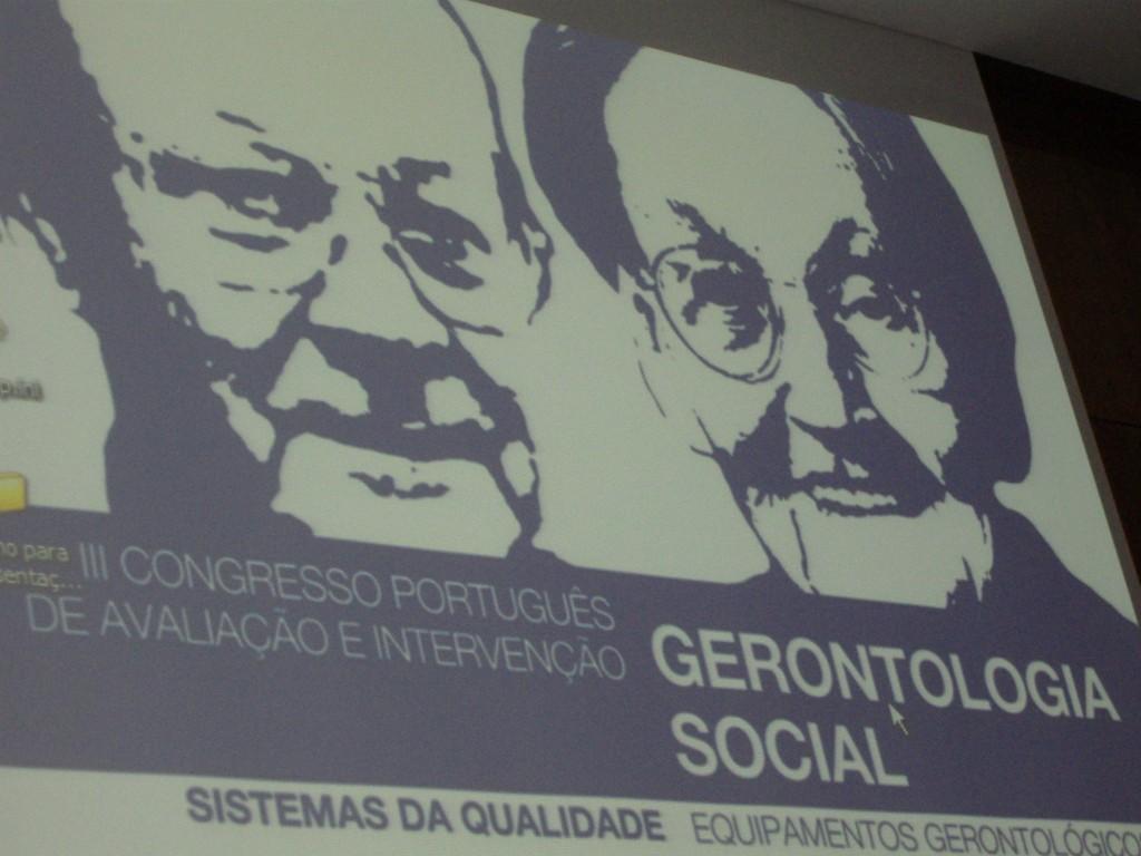 III Congresso em Avaliação e Intervenção em Gerontologia Social em Santa Maria da Feira